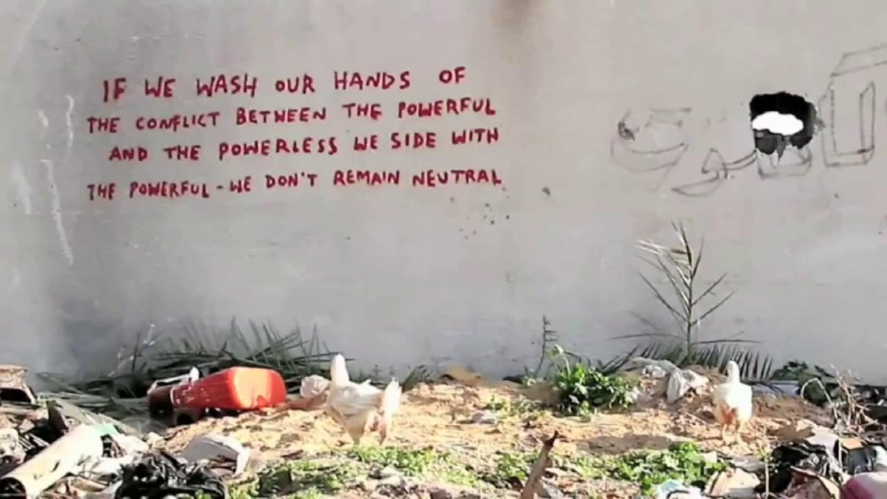 Banksy, again